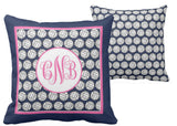 Volleyball Monogram Pillows
