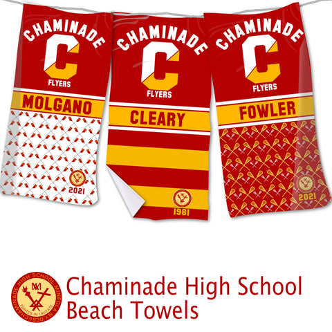 Chaminade High School Beach Towel