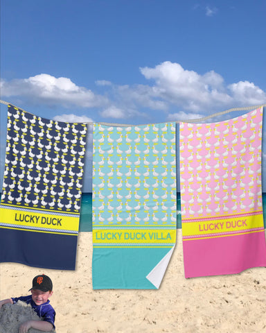 Ducks Beach Towels