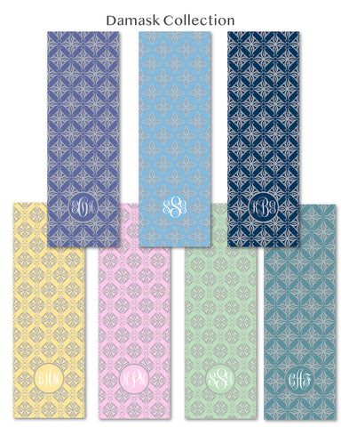 Damask Yoga & Floor Mat Collection