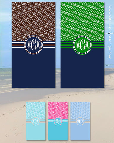 Horseback Riding Beach Towels