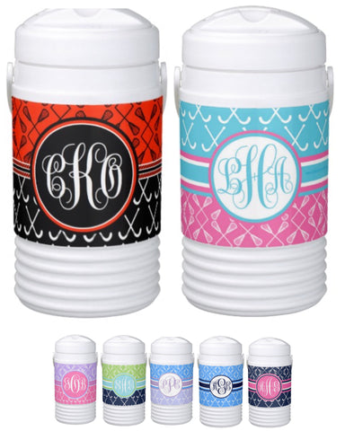 Multi-Sport:  Field Hockey & Lacrosse Monogram Coolers