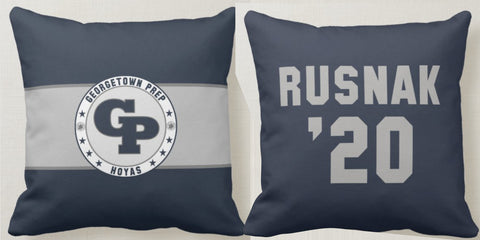 Georgetown Prep Pillows