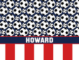 Soccer Fleece Blanket