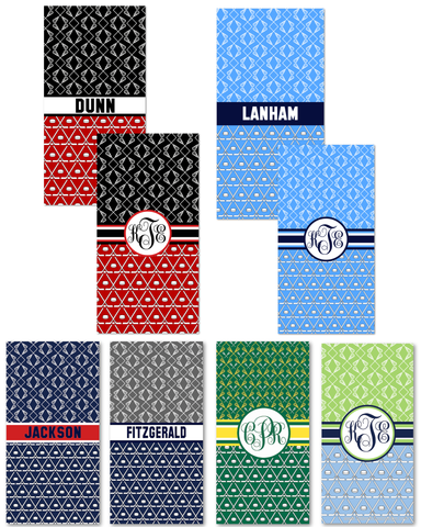 Multi-Sport:  Ice Hockey & Lacrosse Beach Towels