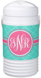Chevron & Moroccan Monogram Igloo Coolers