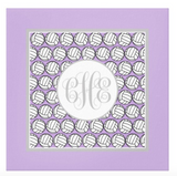 Volleyball Monogram Canvas Prints