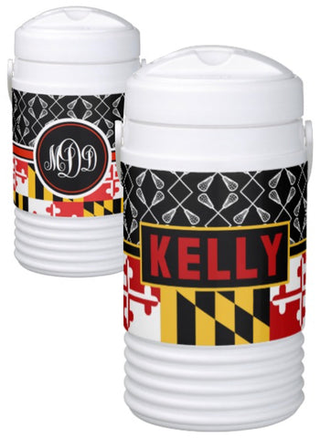 Lacrosse Personalized Igloo Coolers