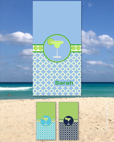 Margarita Beach Towels