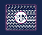 Ice Hockey Monogram Blankets