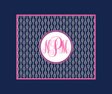 Tennis Monogram Fleece Blankets