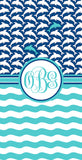 Dolphin Monogram Beach Towels