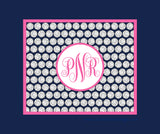Volleyball Monogram Blankets