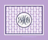 Pineapple Monogram Blankets