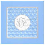 Field Hockey Monogram Canvas Prints