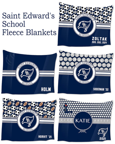 Saint Edward's School Blankets