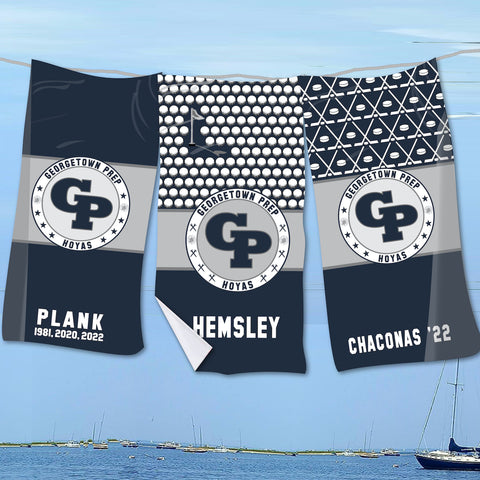 Georgetown Prep Beach Towel
