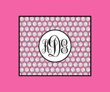 Volleyball Monogram Fleece Blankets