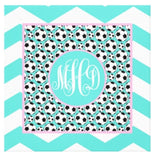 Soccer Monogram Canvas Prints