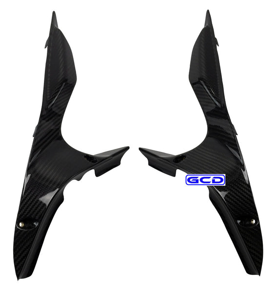 Ducati 848 1098 1198 Carbon Fiber Air Ram Intake Fairing Covers