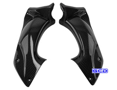 (06-11) Kawasaki ZX14 Carbon Fiber Air Inatke Top Fairing
