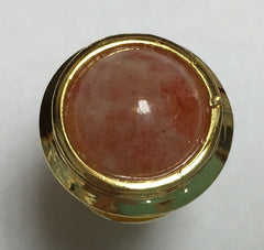 GOLD/Silver Domed Tip - Sunstone 11mm