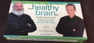The Healthy Brain kit - Dr. Andrew Weil & Dr. Gary Small