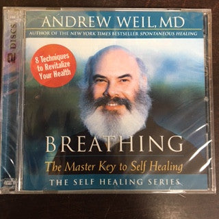 Breathing - The Master Key to Self Healing CD by Andrew Weilds, MD