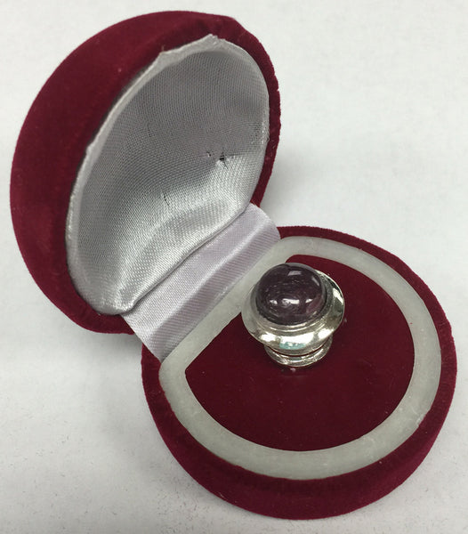 Silver Domed Tip - Ruby 11mm