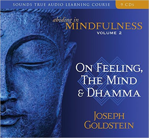 Mindfulness: Volume 2 - On Feeling, The Mind & Dhamma by Joseph Goldstein