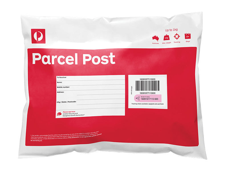 Australian Domestic Postage $10.99 Flat Rate