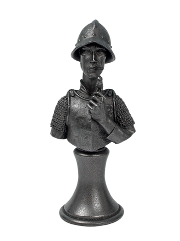Discworld Vimes Bust METALIZED (1)