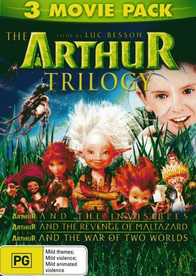 Arthur and the Invisibles (Triple Pack) (DVD)