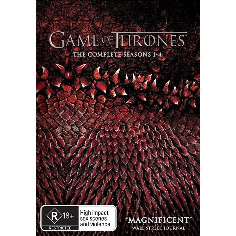 Game of Thrones: Seasons 1-4 (DVD)