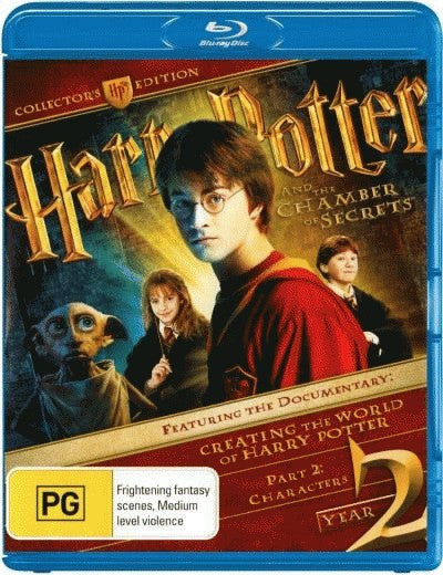 Harry Potter and the Chamber of Secrets (2 Disc Collector's Edition) (Blu-Ray)