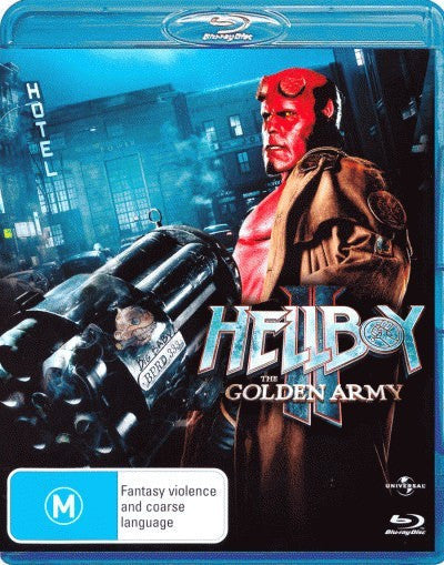 Hellboy II - The Golden Army (Blu-Ray)
