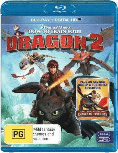 How to Train your Dragon 2 (Blu-ray + Ultra Violet)