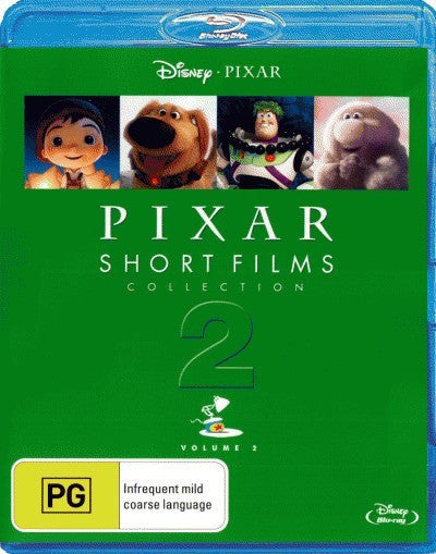 Pixar Short Films Collection - Volume 2 (Blu-Ray)