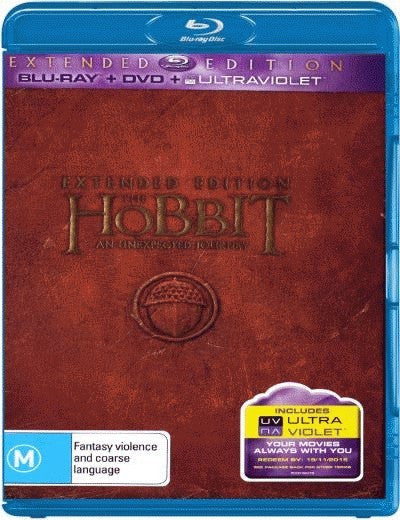 The Hobbit: An Unexpected Journey (Extended Edition) (Blu-ray/DVD/UV)