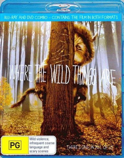 Where the Wild Things Are (2 Disc DVD + Blu-Ray)