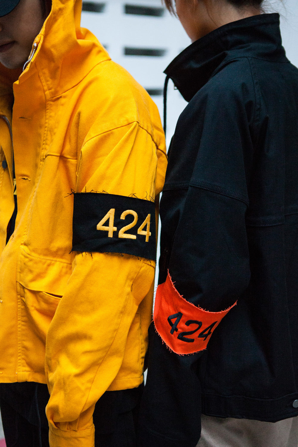 Heavily smattered with graphics inspired by various American paint and DIY  brands, 424's latest collection draws upon co-founder and designer, ...