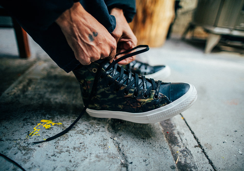 dda1ac7d4a933 Unveiling the Converse and Futura Collaboration - Surrenderous