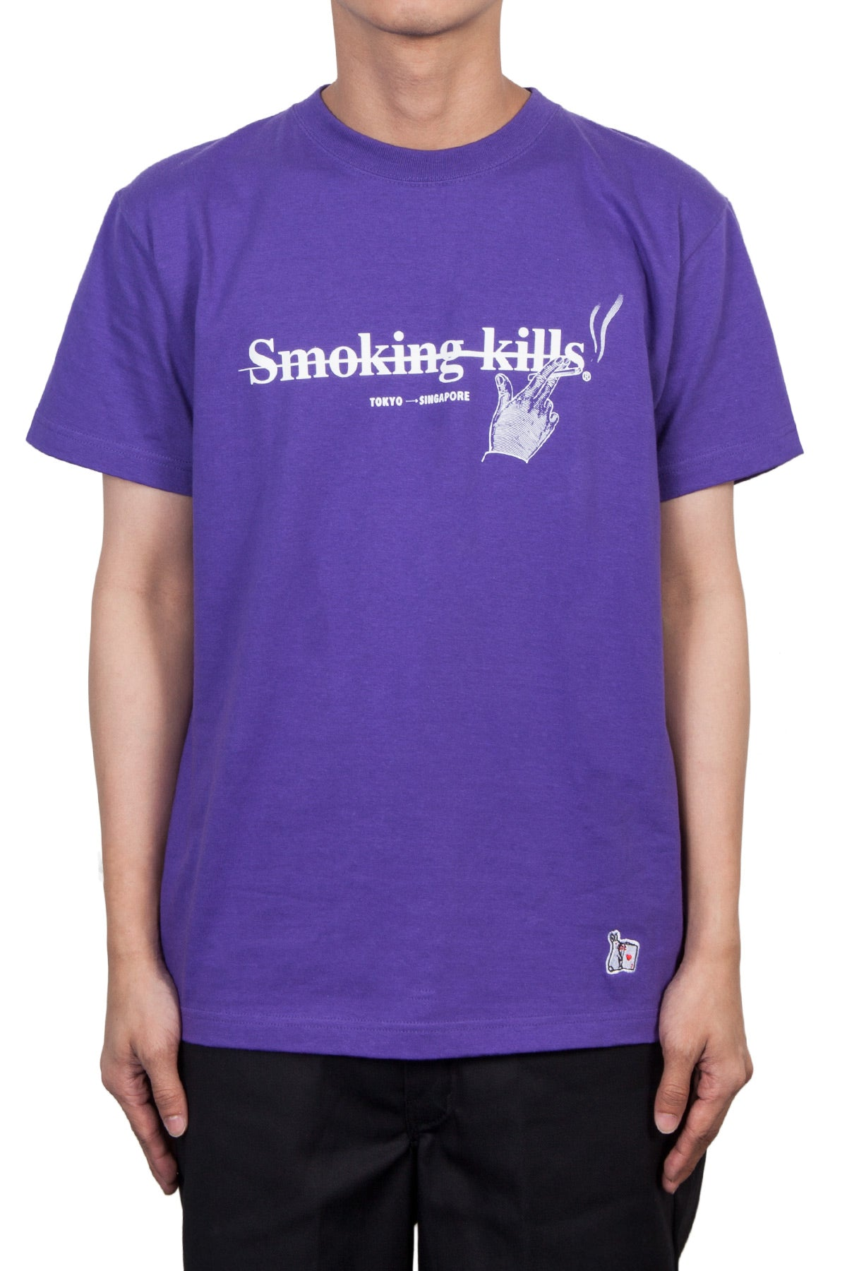 b51a728dbc43 Fxxking Rabbits X Surrender  FR2 Special Opening T-Shirt In Purple