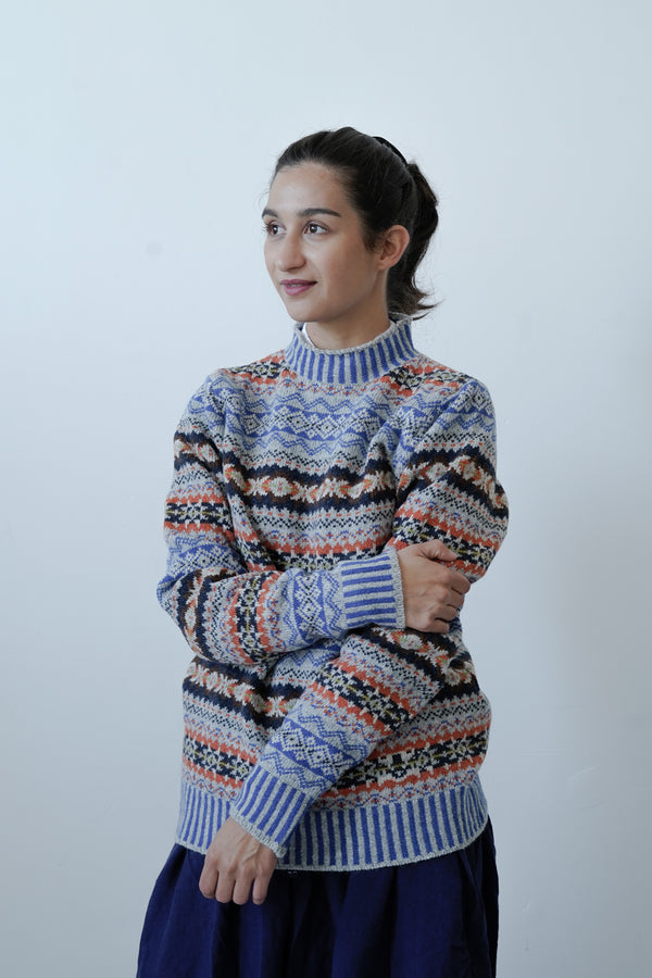 Cosy Fair Isle Knits by Eribé have arrived online