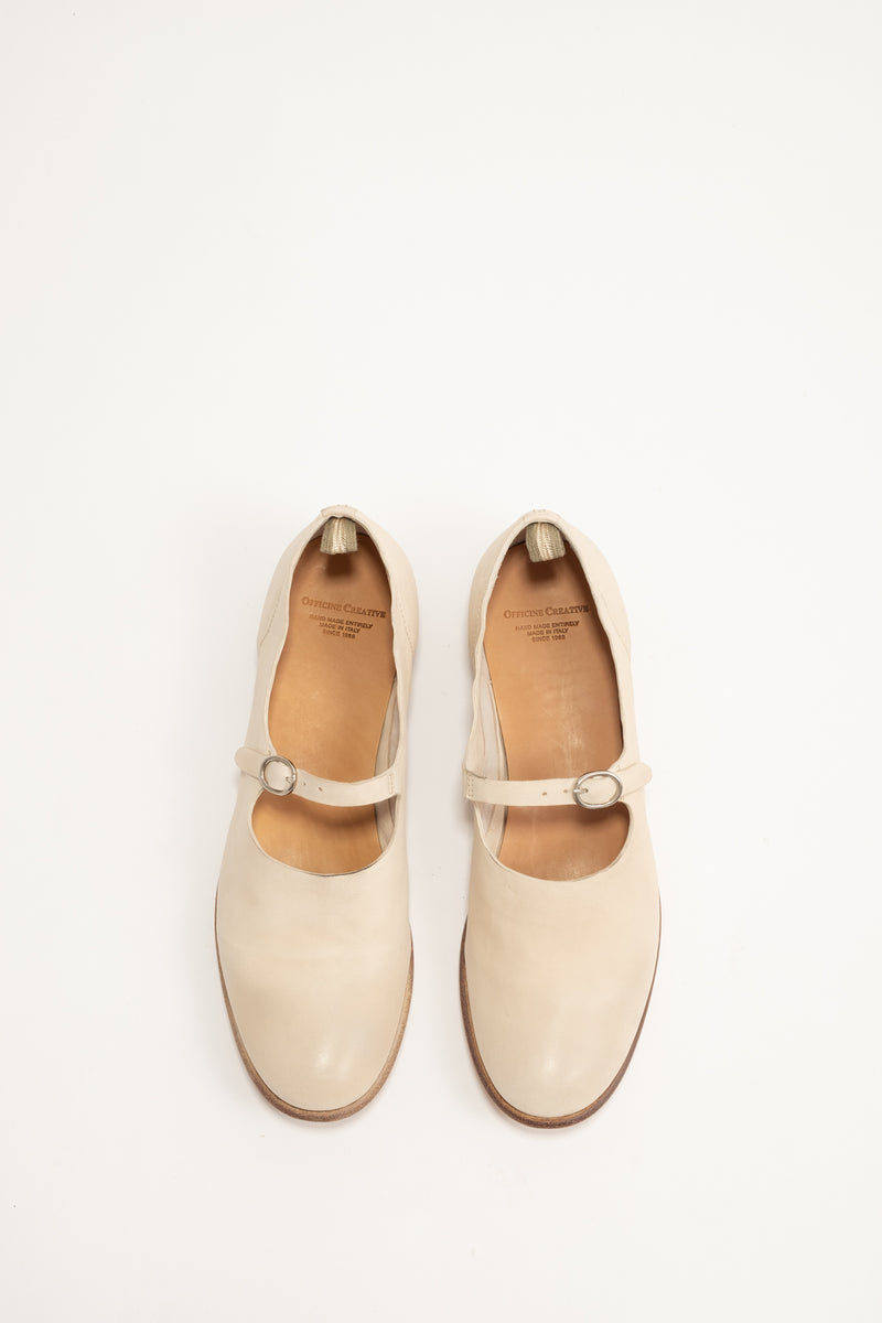 Officine Creative - Mary Jane Shoe 012 - White