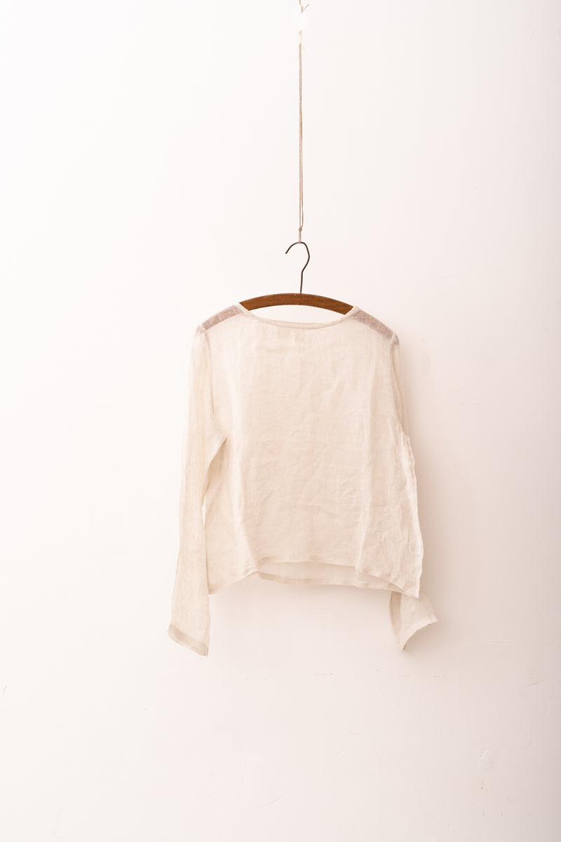 Metta - Lilly Light Gauze Top - Fine Linen