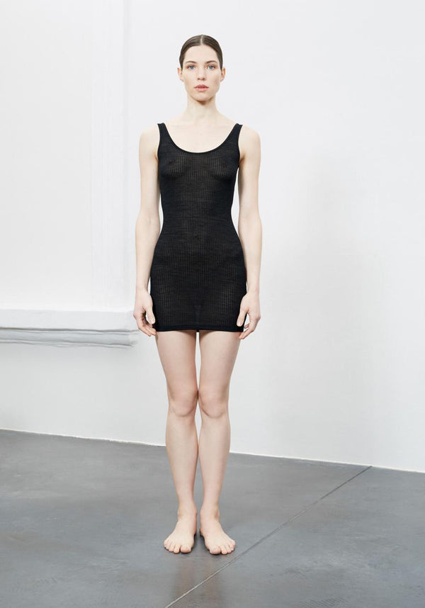 About - Slip Dress - Merino/ Silk