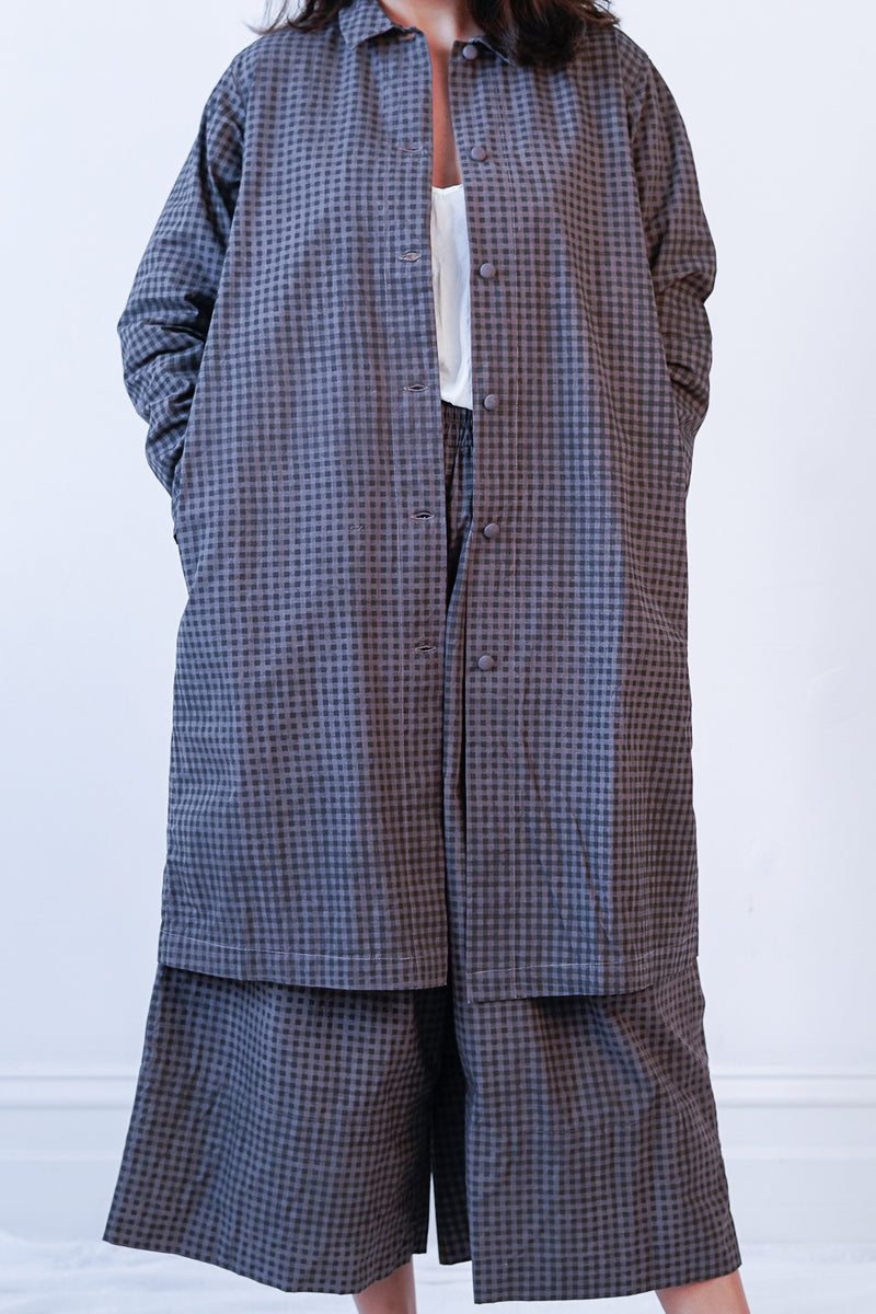 AO Dress - No.78 Print Surtain Coat