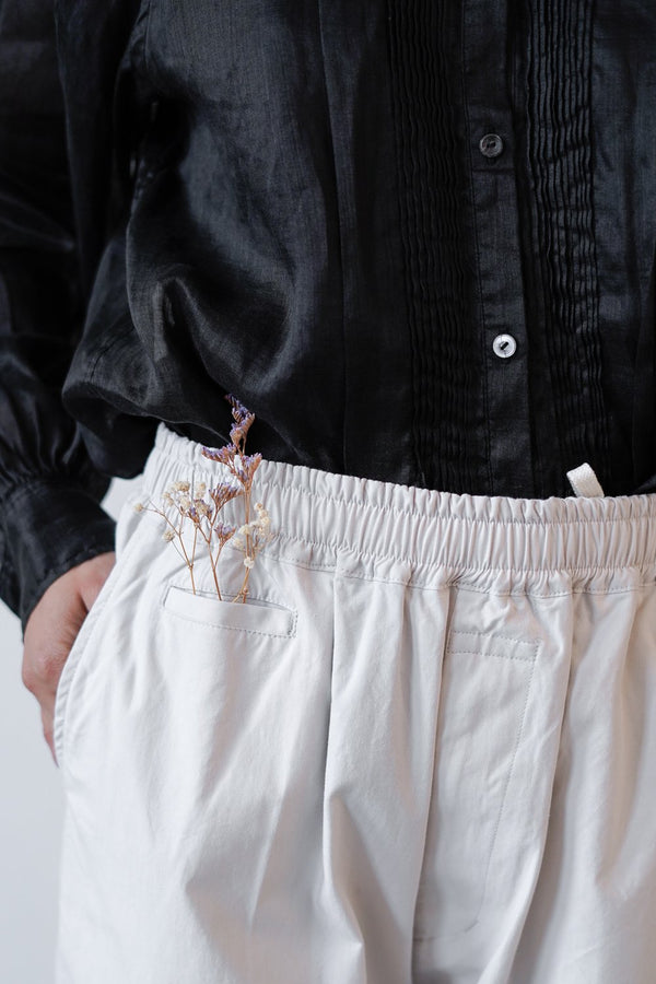 Arts & Science - Easy Chinos - Cotton Bafu Cloth - Ivory