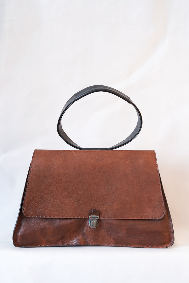 Cherevichkiotvichki -Triple Prism Lock Bag With Oval Handle- 61AW18